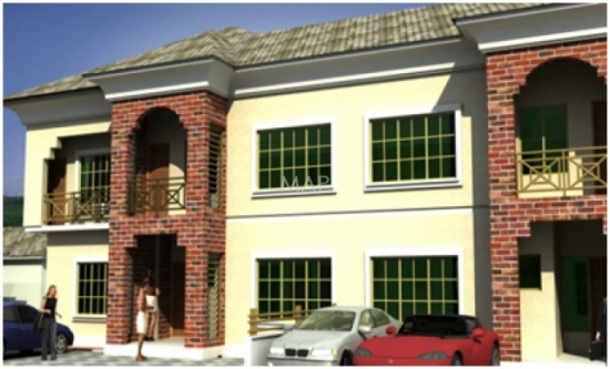 4 Bedroom Duplex with One Room BQ